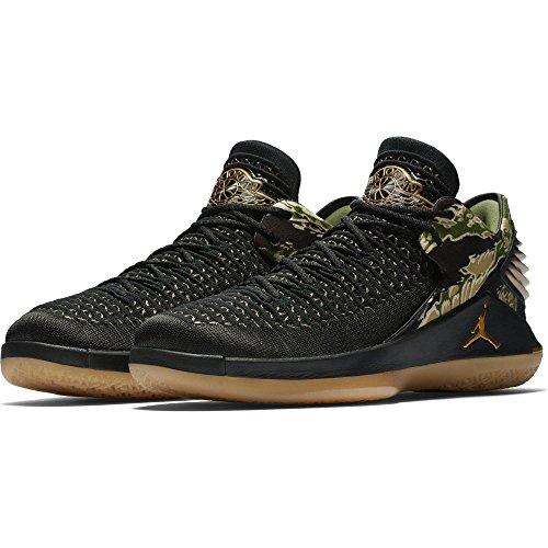 Nike Herren Air Jordan xxxii Schwarz Textil/Synthetik Basketballschuhe 42 (Schuhe Für Männer-nike Air Jordan)