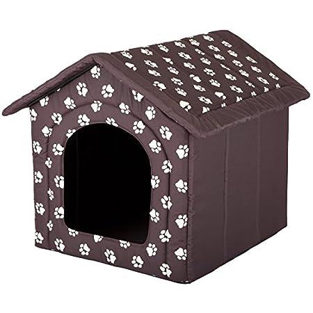 Hobbydog Hundehütte, Größe 4, 60x55cm, aushaltbares Codurastoff, waschbar bei 30 ° C, Beständigkeit gegen Kratzer, EU-Produkt