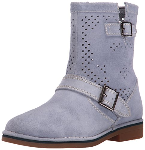 Hush Puppies Women s Aydin Catelyn Perf Boot Powder Blue Suede 8 C/D US