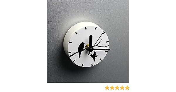 Kühlschrank Uhr Magnetisch : Amazon.de: doneg mode kreativ einfach kleiner vogel kühlschrank uhr