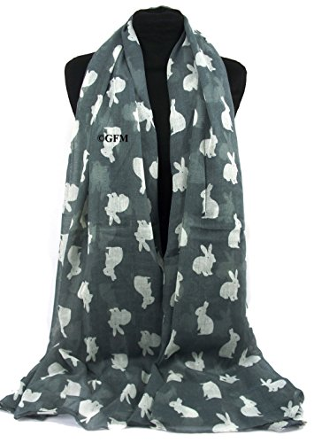 51%2BsWOW2NFL - BEST PET STORE GFM Animal Print Scarf - Rabbits (RB-50-GHBH) PRICE Review UK