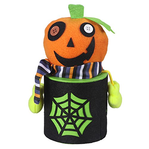 BESTOYARD Halloween Pralinenschachtel Niedlichen Cartoon Zombie Candy Jar Treat Cookie aufbewahrungstasche Geschenkbox Für Kinder Halloween Home Party Bar Dekoration Cosplay Prop
