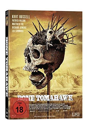 Bone Tomahawk - Mediabook - Cover A - Limited Edition auf 300 Stück  (+ DVD) [Blu-ray]