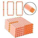 TENGER 100er Pack 7.2cm Darts Pfeile Spielzeugblasterzubehör für Nerf Nachfüllpack
