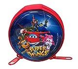 Super Wings Porte-Monnaie Rond métallique