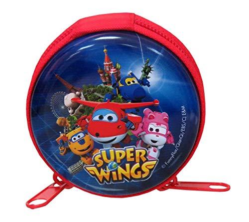 Super Wings Monedero Redondo metalico