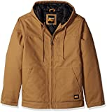 Timberland PRO Men's Big and Tall baluster Insulated Hooded Work Jacket, Dark Wheat, Small