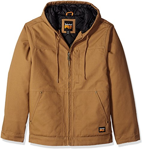 Price comparison product image Timberland Pro Men's Big and Tall Baluster Insulated Hooded Work Jacket,  Dark Wheat,  2X-Large