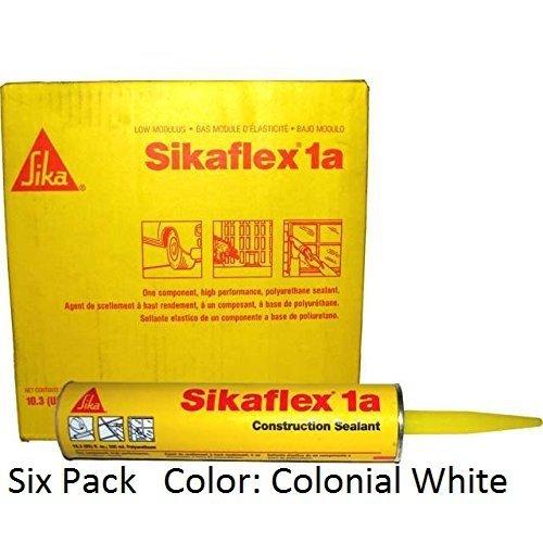 sika-sikaflex-1a-one-part-polyurethane-caulk-sealant-adhesive-103-fl-oz-color-colonial-white-six-pac