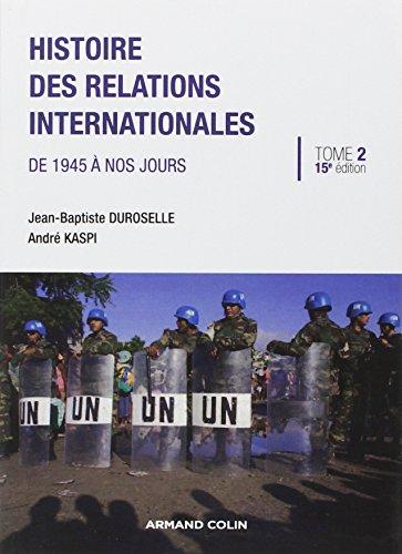 Histoire des relations internationales: ...