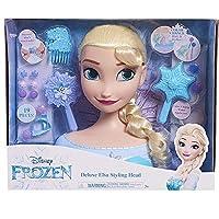 JP Disney Styling Frozen Deluxe Elsa Styling Head