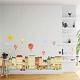 Suuyar Kinderzimmer Kindergarten Kreative Dekoration Cartoon Wandaufkleber Für Kinder Baby Zimmer Tapeten