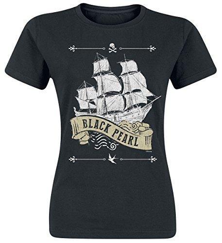 Fluch der Karibik Black Pearl Girl-Shirt schwarz -
