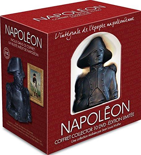 Coffret 10 DVD + Buste Napoléon Collector : L'intégrale de l'épopée napoléonienne 1769-1821 [Édition Collector Limitée] [Édition Collector Limitée]