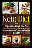 Keto Diet for Beginners & Weight Loss Plan: Your Basic Guide to a Ketogenic Diet For Beginners: a 21 Day Ketogenic Diet Plan: 25 Simple Keto Diet Recipes (Keto diet books)
