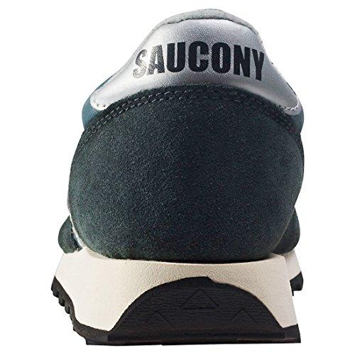 Saucony Jazz Original Vintage, Sneaker Unisexe - Adulte Blu (blu / Nvy / Sil 4)