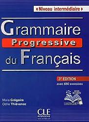 Grammaire Progressive Du Francais - Nouvelle Edition: Livre Intermediaire 3e Edition + Cd-audio + Livre-web (Collec Progress)