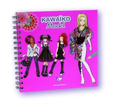 KAWAIKO - Loisirs créatifs - Créativ'model Kawaïko 50 flles, papier dessin 125g Mangas Kawaiko