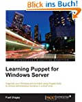 Learning Puppet for Windows Server