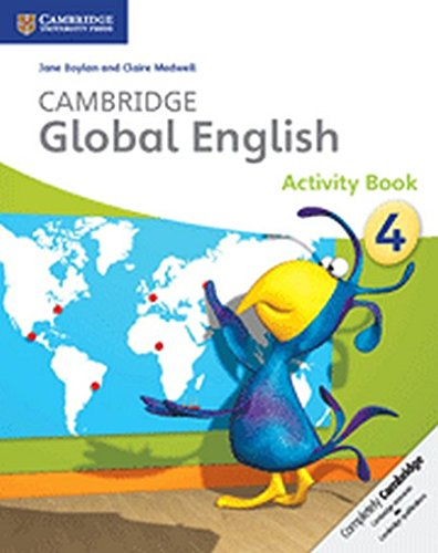 Cambridge Global English Stage 4 Activity Book -