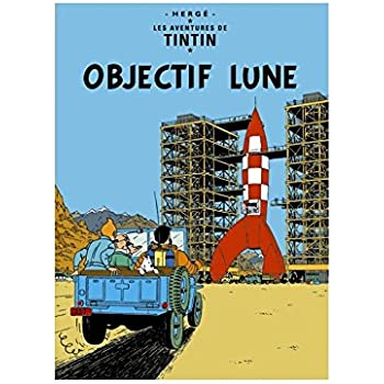 Carte postale album de Tintin 15x10cm Laffaire Tournesol 30086