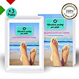 🦶🏼O³Maschera peeling per piedi - 3 paia di calze peeling🦶🏼   I Suoi piedi saranno impeccabili in 8 giorni. Ritroverà i Suoi piedi da bambina: lisci, belli e senza pelle morta! Preparatevi per l'estate!   ...