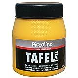 PICCOLINO Tafelfarbe 250ml Gelb - Tafellack zum Malen einer mit Kreide beschreibbaren Fläche