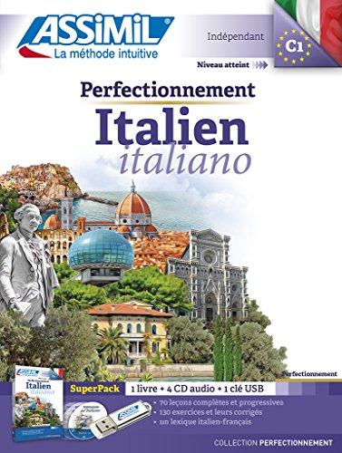 Perfectionnement Italien superpack usb (livre+ 4Cd audio+1 cl usb)