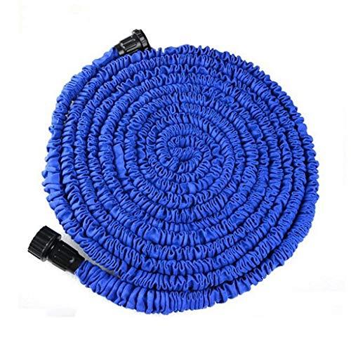 CHEN Gartenschlauch Einziehbarer Gartenschlauch, Erweiterbarer Flexibler Magic Light-Schlauch, 3X Teleskopschlauch, Stretchschlauch, Blau Funktion Spritzpistole Erweiterbar (größe : 30m)