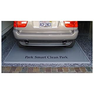 Auto Care Products Inc 70722 7.5-Feet by 22-Feet Heavy Duty Clean Park Garage Mat with 50-mil Vinyl Sheeting by Auto Care Products Inc.