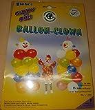 Dekoset Luftballon - Clown, ca. 1,60 Meter