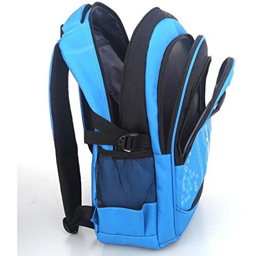 Z&N Backpack Panno Impermeabile Oxford Alta Qualità Scuola Primaria Leggero Zaino Unisex Per Lo Svago Esterno Sport Multiuso Viaggio Campeggio Borsa Viaggio Per Picnic Vento Da Collegio E