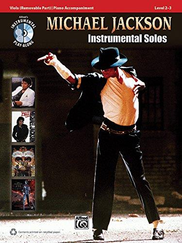 Michael Jackson Instrumental Solos für Bratsche (Buch & CD) (Pop Instrumental Solo Series)