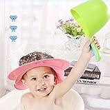 Guixinweiheng (5pcs)Baby Shower Cap Und Bath Visor Für Kleinkinder Kinder 1 Bis 6 Jahre Alt - Hair Wash Eye Ear Schutzs