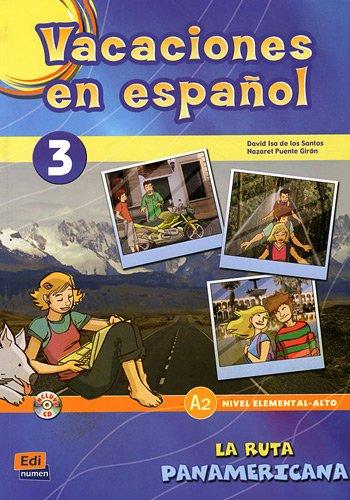 Vacaciones en español 3 (Cuadernos de vacaciones)