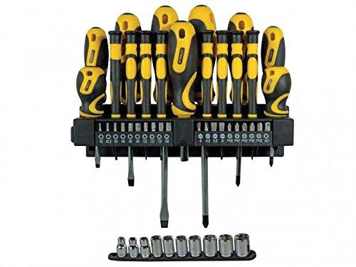 Garten Tool Rack (Stanley Tools zsta-0-62-146mutteranziehvorrichtung und Socket Set in Rack)