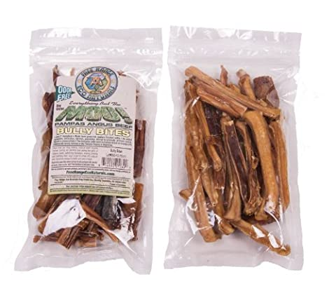 Eco Naturals Free Range Odor Free Bully Stick Bites - 10oz by Angus MOO!