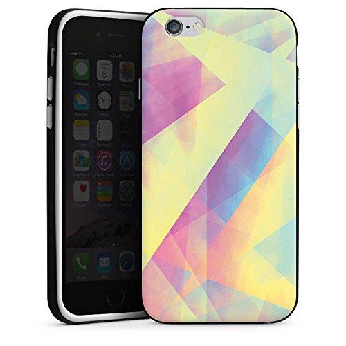 Apple iPhone X Silikon Hülle Case Schutzhülle Pastell Frühling Farben Silikon Case schwarz / weiß