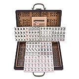 SOWLFE 2027-1 English Mahjong-Luxury Mahjong Club Set Portable Mahjong Board Games