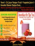 This is a 4 In 1 box set compilation of 4 books. This compilation includes Juliana Baldec's 4 titles: Book 1: Juicing To Lose Weight Book 2: 11 Healthy SmoothiesBook 3: 21 Amazing Weight Loss Smoothie RecipesBook 4: Smoothies Are Just Like You!... fr...