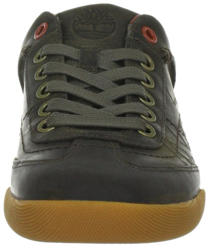 Timberland Ekspltcup Bsox, Chaussures basses homme Marron (Dark Olive Smooth)