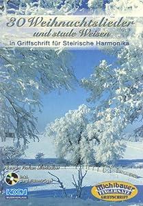 30 Weihnachtslieder und Stade Weisen. Handharmonika