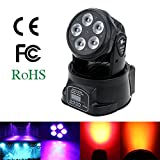 Lixada 75W DMX512 Moving Head 10 / 15 Kanäle Klangregelung Automatisch Rotierenden LED Bühne Muster Lampe für KTV Disco Club Party