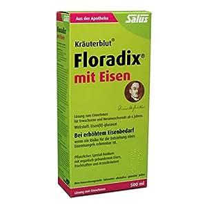 Floradix, Fortifiant au fer, 500 ml
