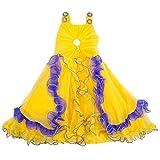 Yashasvi Girl's Royal Cotton Dress