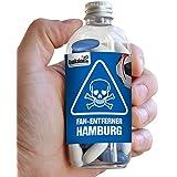 Fan-Entferner Hamburg | Lakritz Giftköder zur effektiven Abwehr von HSV-Fans | Bremen, St.Pauli & alle Fußball-Fans Aufgepasst, diesen Süßigkeiten kann kein Freund widerstehen | Lakritz