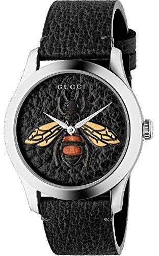 Gucci YA1264067 BLACK STEEL 316 L Woman Watch