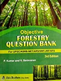 Objective Forestry Question Bank For UPSC,ASRB-NET,ARS,SRF,JRF,SFS