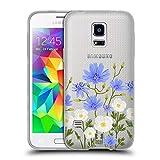 Head Case Designs Chicorée Rosen Und Wildblumen Soft Gel Hülle für Samsung Galaxy S5 Mini