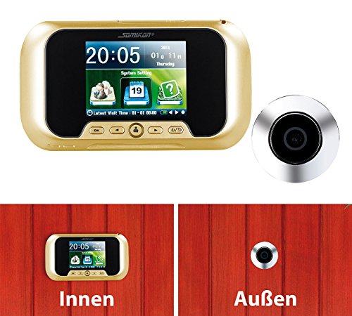 Preisvergleich Produktbild Somikon, digitale Eingangstür-Kamera mit manueller Foto- und Videoaufnahme